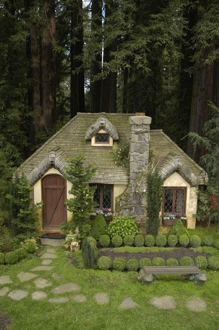 Fairy-tale Cottage! I'd live here.