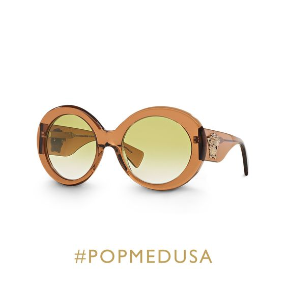 Get ready for the heat wave in style with the #Versace #POPMEDUSA sunglasses. Find more  on versace.com #VersaceEyewear