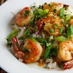 Vietnamese Caramel Shrimp (Tom Rim)