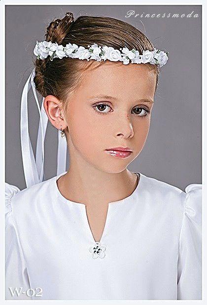 (071) Haarkranz in Weiß-Grün! - Princessmoda - Alles für ...