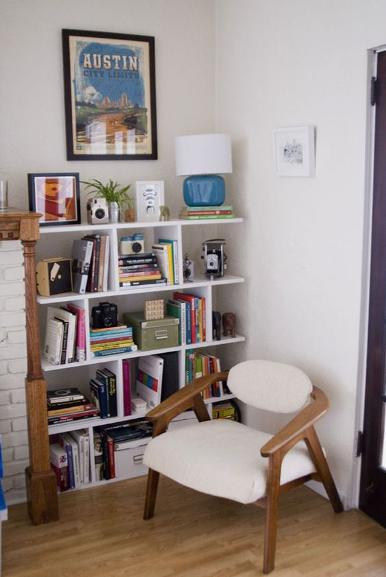 Bookcases make your and make your own on pinterest for Make your own room divider