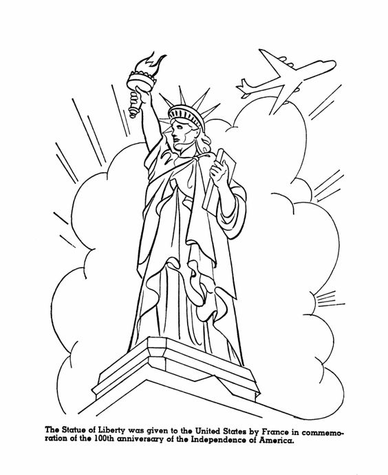 Usa Symbols In ColorSymbolsPrintable Coloring Pages Free Download