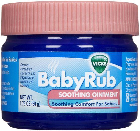 Baby Vicks Vapor Rub