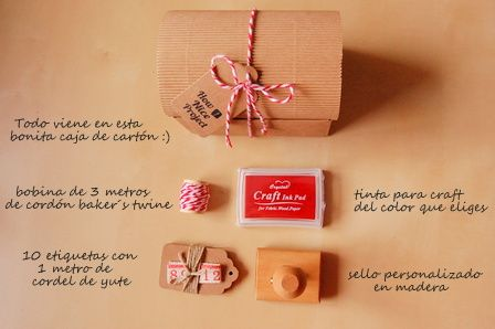 Sellos Personalizados | How Nice Project