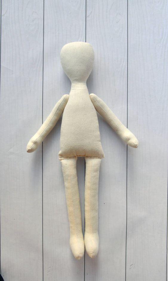Бланк куклы тела 15tilda пустым тряпичная кукла Ragdoll от NilaDolss: