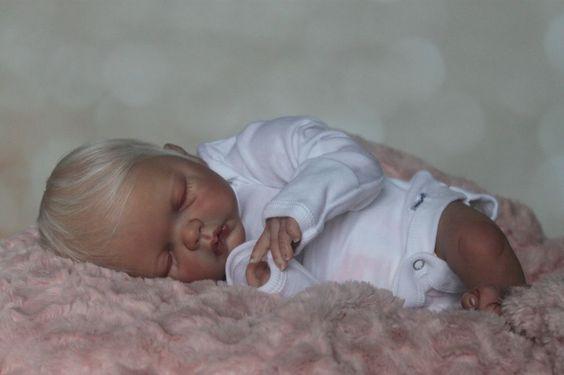 Reborn Baby Girl Doll-Adelyn by Emily Jameson *LA Doll Studio*