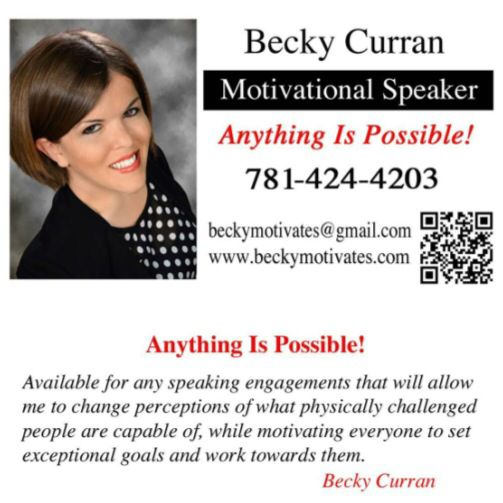 Business card available for any speaking engagements around the business card available for any speaking engagements around the world anythingispossible becky motivates pinterest colourmoves