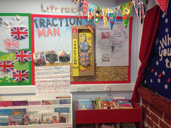 My Traction Man display #tractionman #ks1 #display