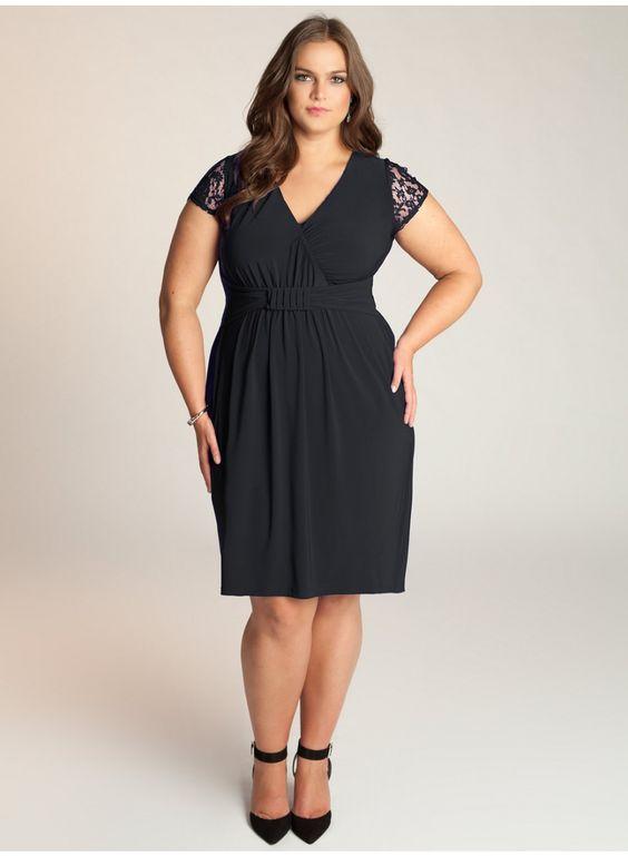 plus size bridesmaid dresses black | Top 100 Plus Size Bridesmaid ...