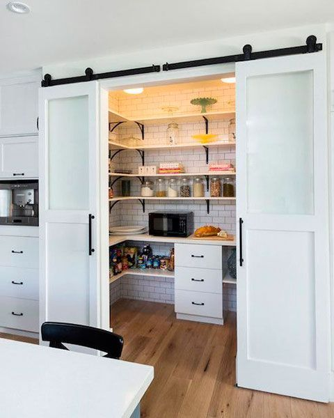 The 6 Walk-In Pantries Kitchen Lovers Will Salivate Over!