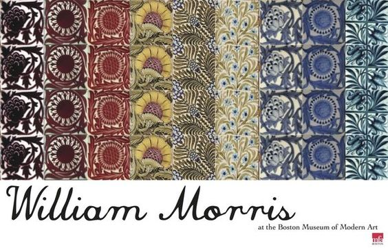 Arts and crafts movement posters william morris for Arts and crafts movement graphic design
