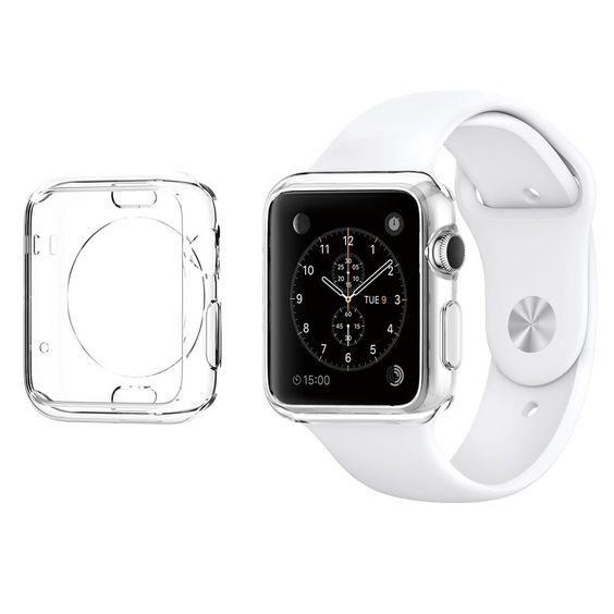 Apple Watch Case, Spigen®  Apple Watch 38mm & 42mm Case Slim    Wearable technology Apple Watch Case, Spigen® Apple Watch 38mm & 42mm Case Slim  06 janvier 2016  Spigen Apple Watch Case Reviews - Read  more http://themarketplacespot.com/wearable-technology/apple-watch-case-spigen-ultra-thin-apple-watch-38mm-42mm-case-slim-liquid-air/