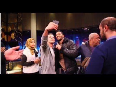 فيديو محمد رمضان ينشر كواليس حلقته مع وائل الإبراشي Talk Show Talk Scenes