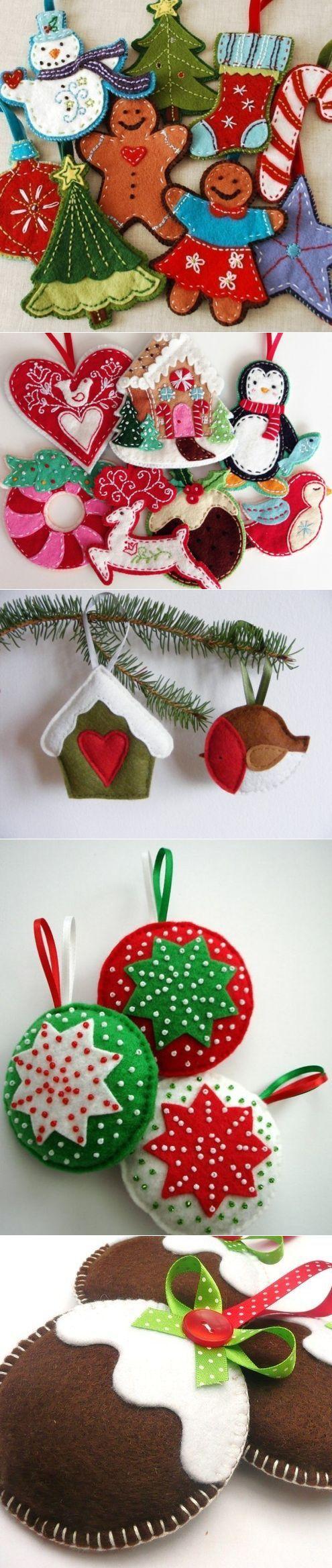 Новогодние украшения, елочные игрушки своими руками / Украшение для дома к празднику. Упаковка подарков, подарочные коробки своими руками / КлуКлу. Рукоделие - бисероплетение, квиллинг, вышивка крестом, вязание: