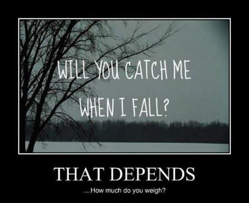totally depends