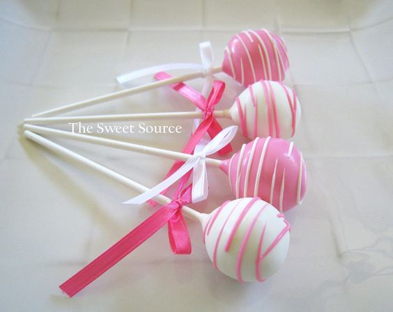 Cake Pops: Birthday Cake Pops Made to Order with High Quality Ingredients. via Etsy.
