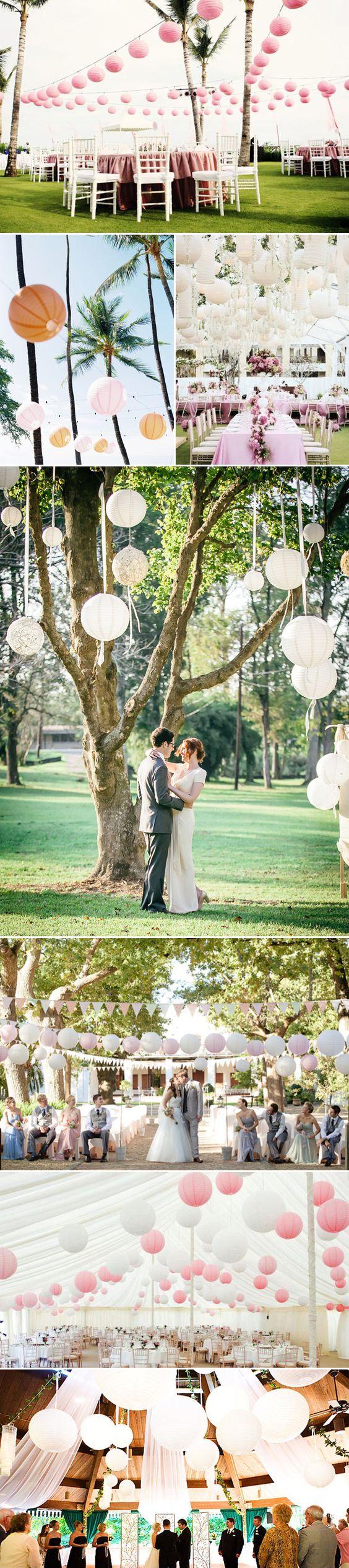 21 Lantern Wedding Decor Ideas - Romantic…
