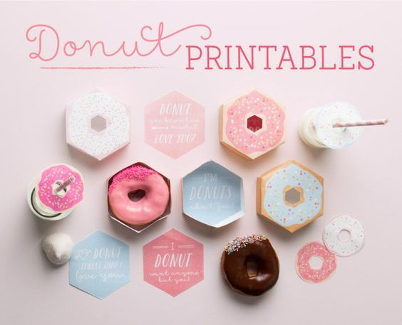 Free Printables : Go Nuts for Donuts ~ Tinyme
