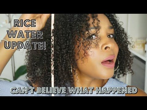 Rice Water Update This Is What Happened To My Hair In Just 30 Days Mel S World Youtube Hair Growth Challenge Black Hair Growth Hair Challenge