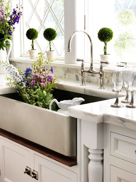 Texas Lightsmith Nickel Silver Sink! in Traditional Home magazine!?