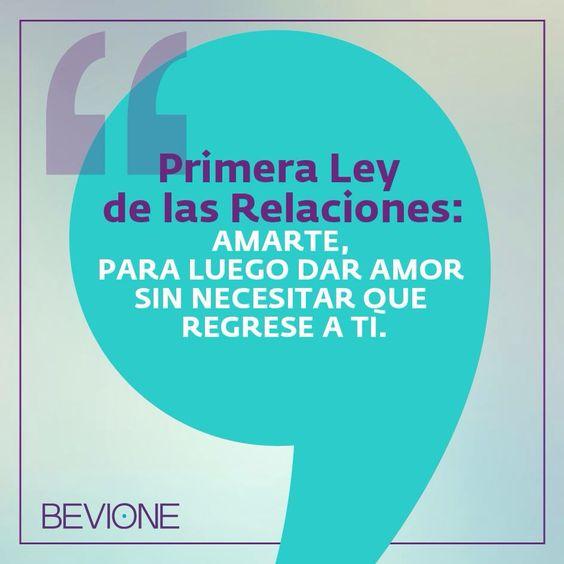 Primera ley de las relaciones