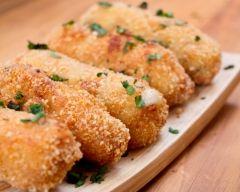 Croquettes au fromage faciles (rapide) - Une recette CuisineAZ