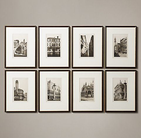 All Wall Art Rh Gallery Wall Frames Framed Artwork Wall