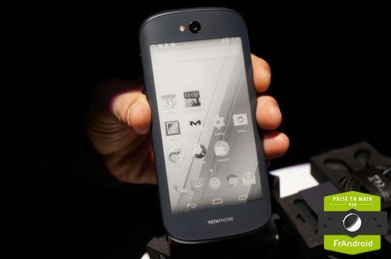 Le YotaPhone 2 rajouté par Vincent Sergere