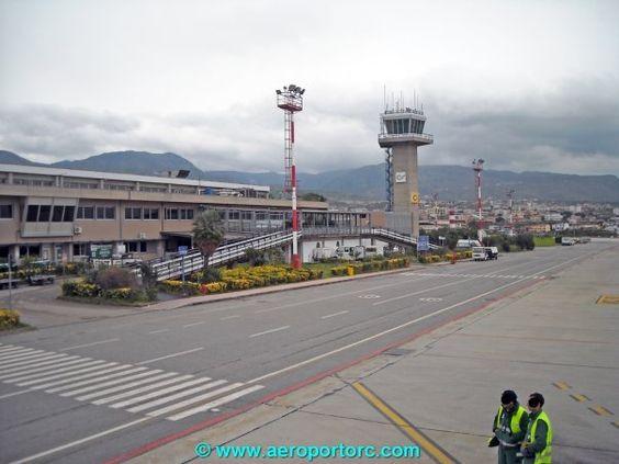 Il terminal visto dalla pista