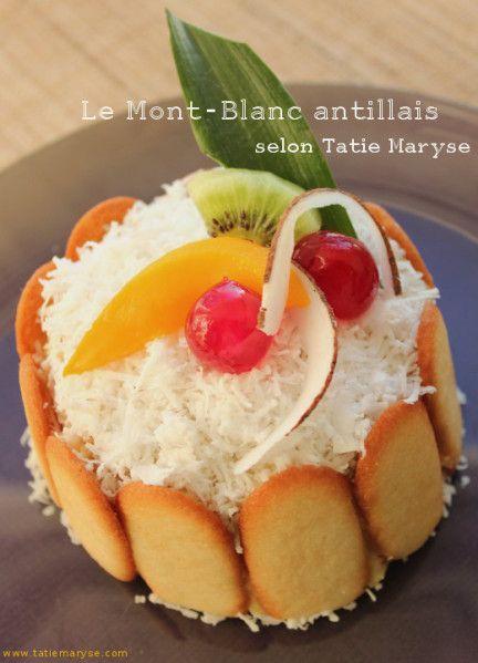 recette du mont blanc antillais selon tatie maryse cuisine des iles mont blanc