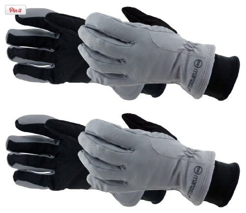 Manzella Womens Incite Gloves (Gray, Large), Our winter sports line is built around the passionate pursuit of your favorite actitivies and your personal warmth performance. Incite has a warmer rating with Softshell comfort for cold weather areob..., #Apparel, #Gloves