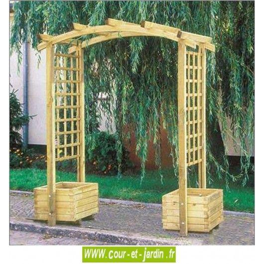 decouvrez la pergola de jardin en bois