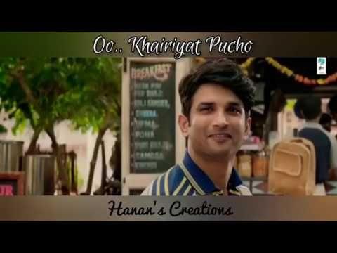 Khairiyat Whatsapp Status Chhichhore Sushant Singh Rajput Shraddha Kapoor Youtube In 2020 Sushant Singh Shraddha Kapoor Youtube
