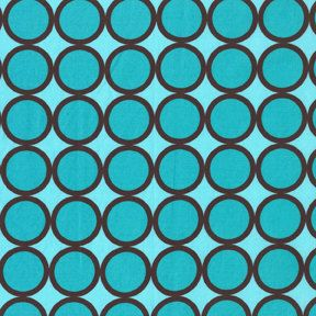 Turquoise Ring Dots From Michael Miller 1 Yard. $8.50, via Etsy.