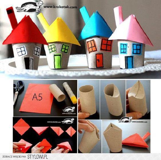 Brinquedos com Material Reciclado: 48 Modelos com Passo a Passo | Revista Artesanato