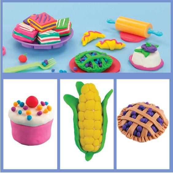 how to make spongebob out of playdough