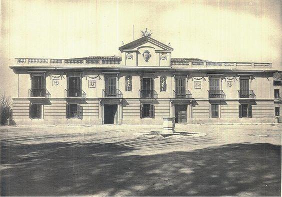 Palacete de la Mocloa.