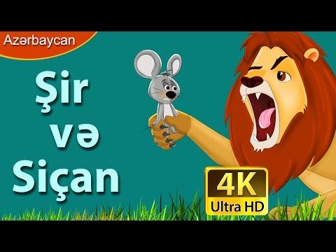 Lion And The Mouse Story In 20 Languages Youtube