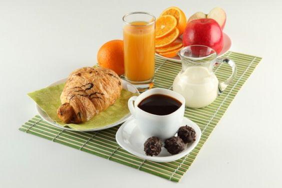 Apple, Table Napkin, Jar of Milk, Breakfast