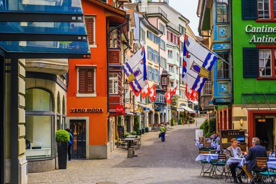 3. Switzerland — The unemployment rate in Switzerland hovers around 3.5%, one of the lowest in the world.