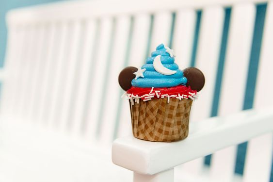 This Mickey Mouse Sorcerer Cupcake Is The Best Way To Celebrate Mickey's 90th BirthdayDelish