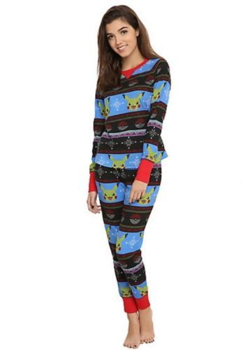Pokemon-Go-Pikachu-Thermal-Sleep-Set-Size-XL-Gift-New-With-Tags