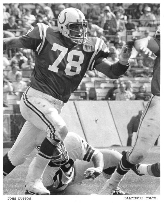 My all-time favorite Colt: Defensive End JOHN DUTTON (1974-78)!!