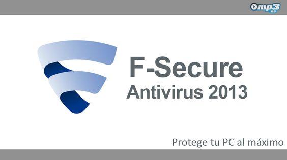 F-Secure AntiVirus 2013, la nueva versión de un clásico de los antivirus - Ya lo sabes, aunque siempre es bueno recordarlo, los antivirus son la mejor protección para el PC. Aquí tienes F-Secure AntiVirus 2013, la última entrega de este poderoso software de protección para el ordenador: http://descargar.mp3.es/lv/group/view/kl229194/F-Secure_AntiVirus_2013.htm?utm_source=pinterest_medium=socialmedia_campaign=socialmedia