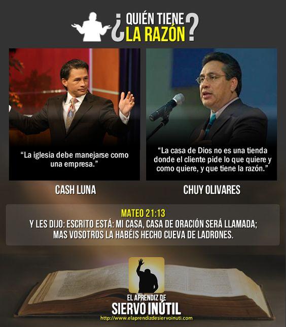 ¿Quién tiene la razón? ¿Cash Luna o Chuy Olivares?