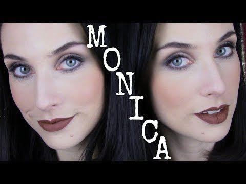 Monica Geller Friends Inspired Make Up Tutorial Youtube 90s Makeup Tutorial 90s Makeup Makeup Tutorial