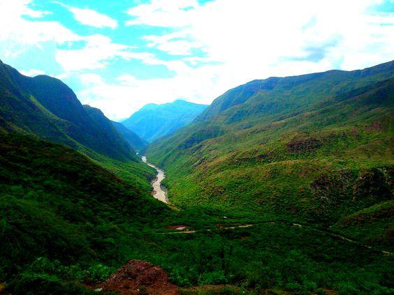 Cañón Vía Zapatoca. Montaña #Naturaleza