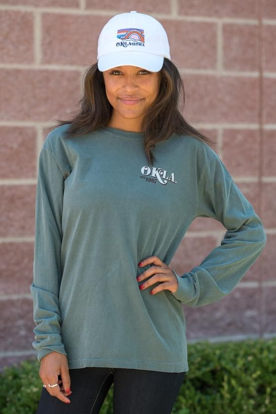 Image One NCAA Rounds Long Sleeve Comfort Color Tee