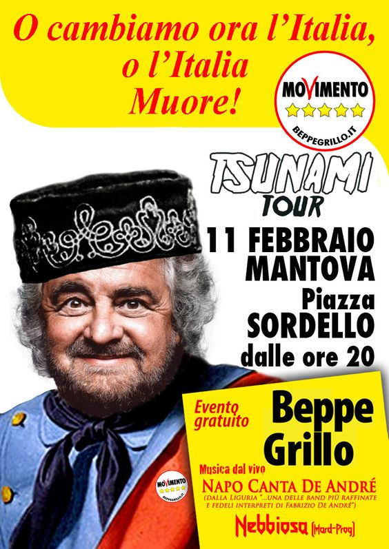 Resultado de imagen para Italian politics illustration grillo