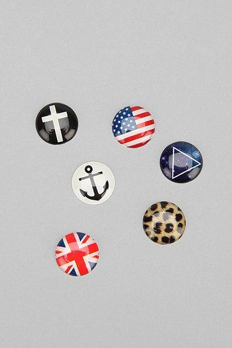 Bubble Home Button Sticker - Pack Of 6